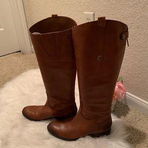 """Sam Edelman Shoes - Sam Edelman """"Penny"""" cognac riding boots, size 8"""